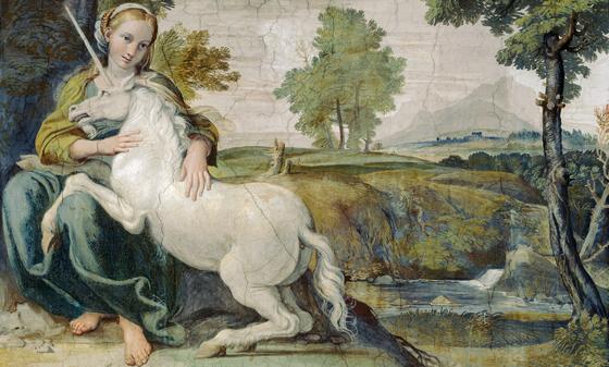 Unicorn-painting