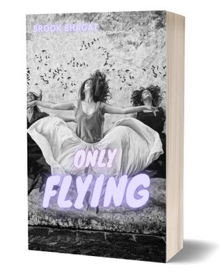 Only Flying book cover- women jumping